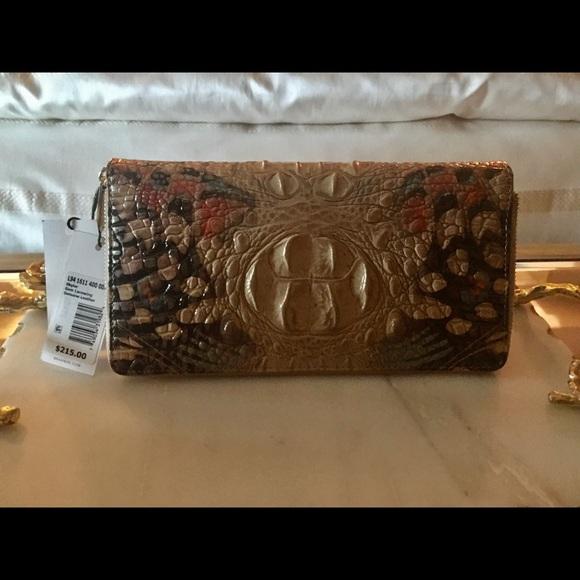 Brahmin Handbags - Brahmin Skyler Wallet / Wristlet Lace Wing